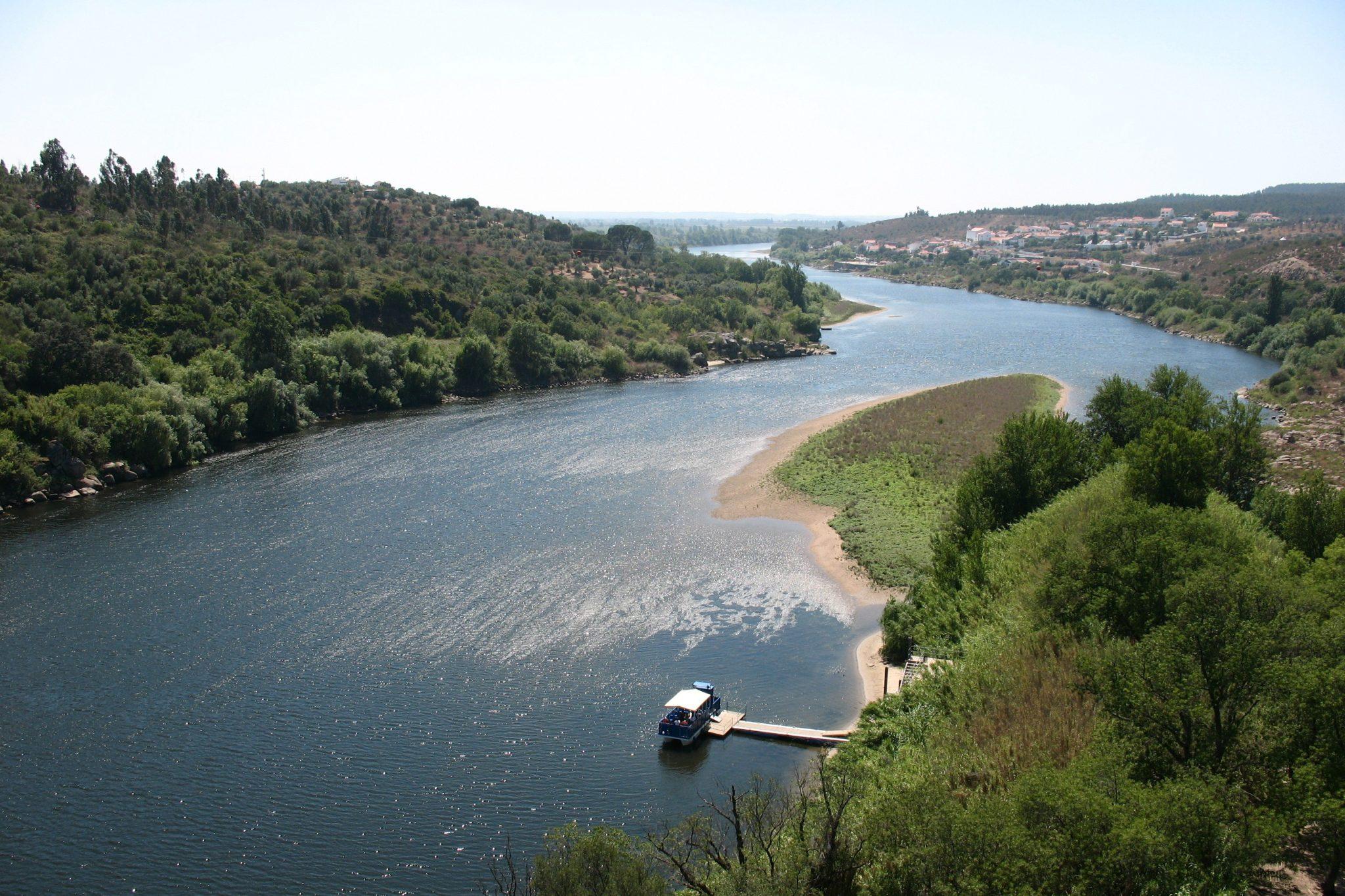 Vista do Rio Tejo a partir do Castelo de Almourol