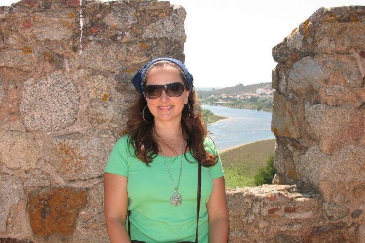 Castelo de Almourol: brasileiros em Portugal.