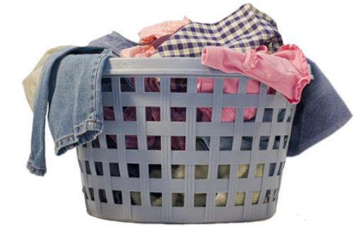 como lavar roupa na máquina.