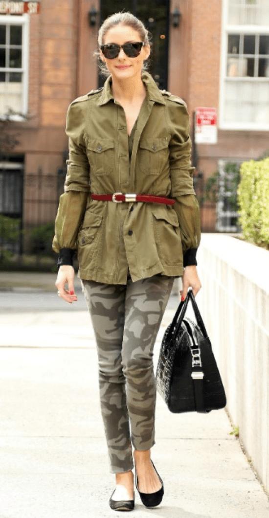Estilo militar: dicas de moda.