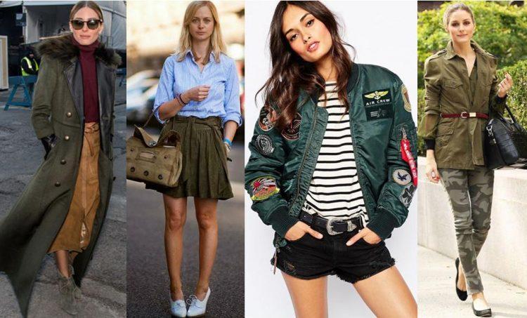 Militarismo na moda: quatro looks com a tendência.