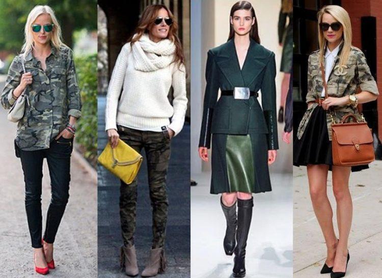 Militarismo na moda: 4 looks com a tendência.
