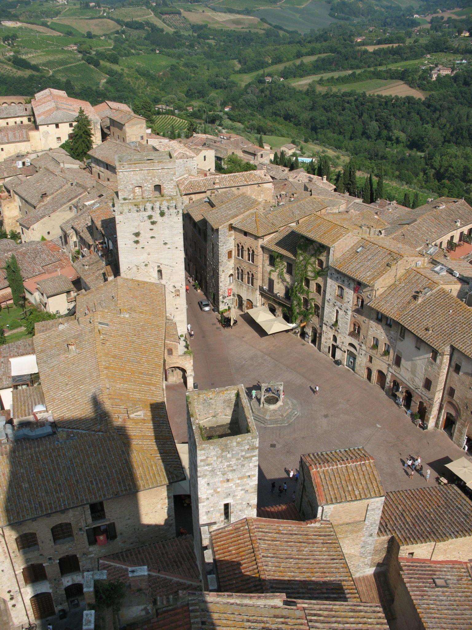 Vista da Torre Grossa