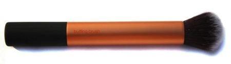 Pincel kabubi duo fiber de topo arredondado