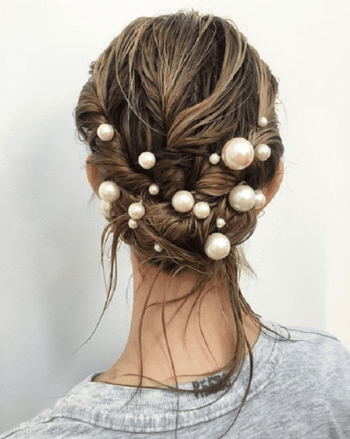 Como usar prendedor de cabelo.