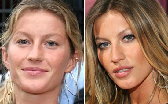 Veja o que a maquiagem pode fazer por uma mulher.