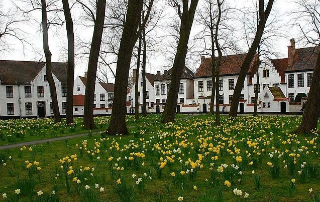 Jardim das Beguinas - Bruges