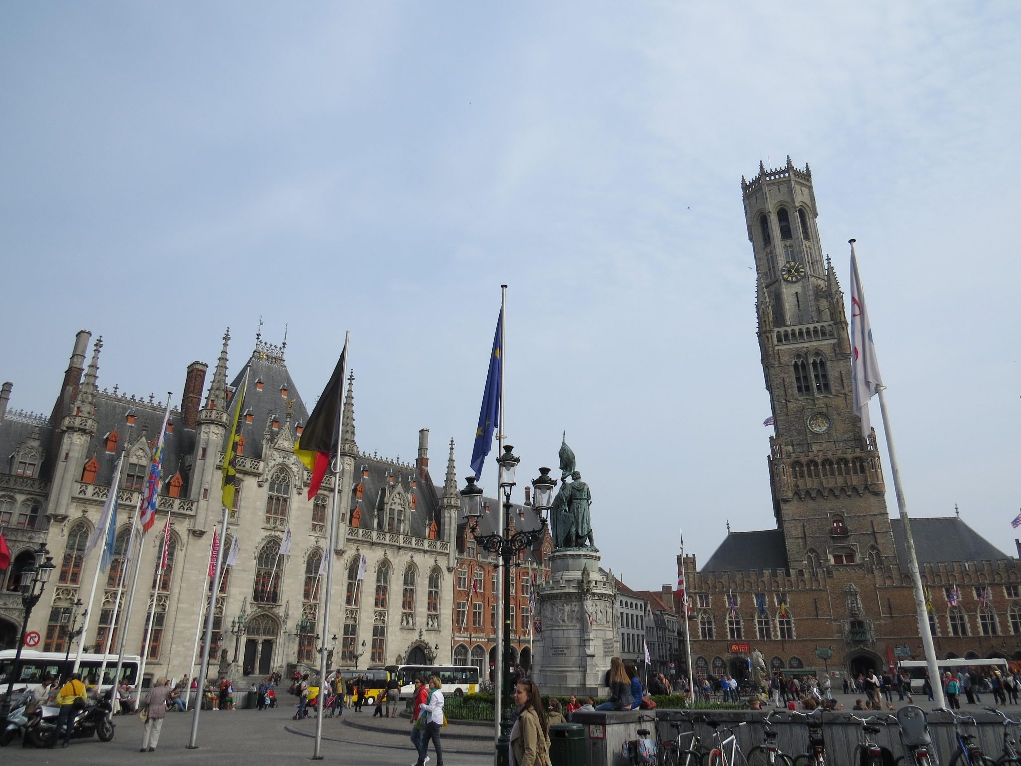 Campanário Belfort - Bruges