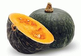 Abóbora cabotiá ou japonesa