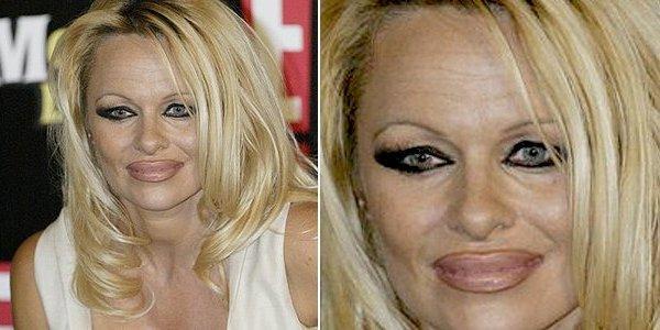 Erros de maquiagem.