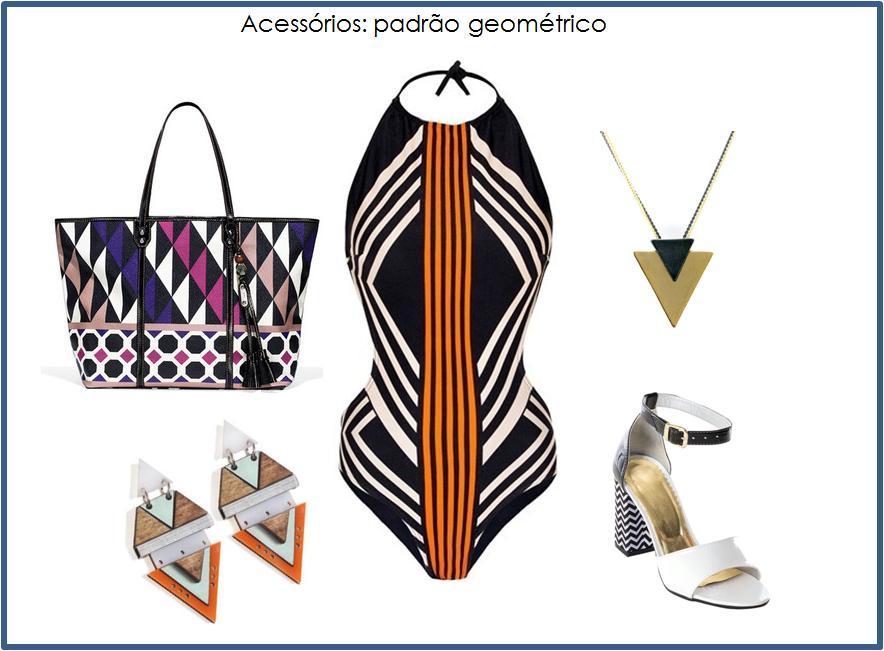 5 artigos de moda em estampas geométricas