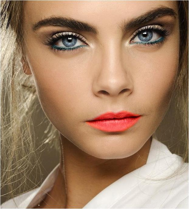 Makeup de Ano Novo.