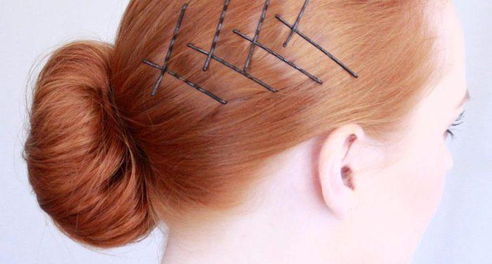 Ideias de penteado.