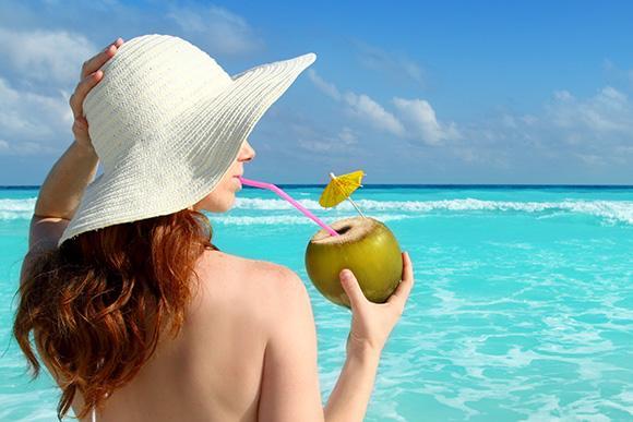 Características nutricionais da água de coco