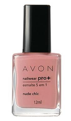 Esmalte Avon Pro + Nude Chic
