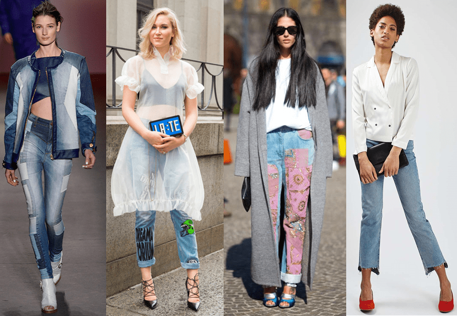 Novos Jeans do momento