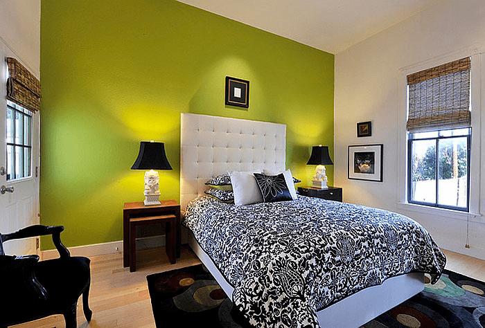 Verde na decoração.