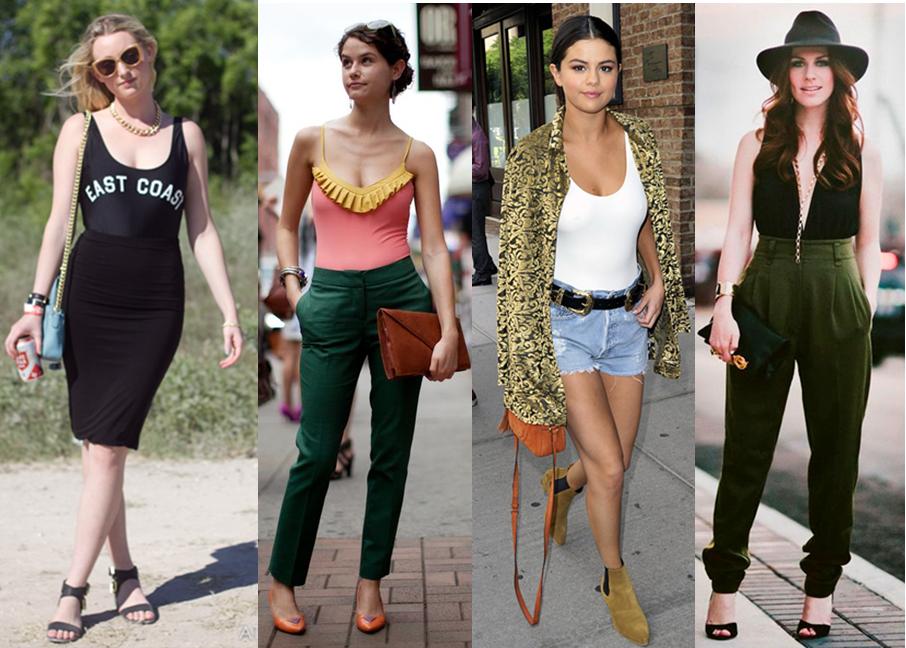Maiô na moda de rua