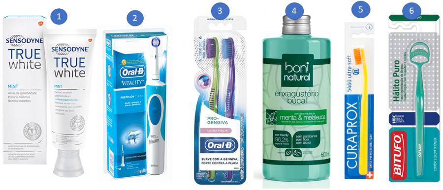 Como escolher escova de dente.
