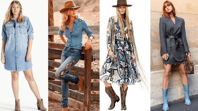 Moda cowgirl.