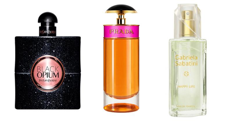 Famílias olfativas da perfumaria