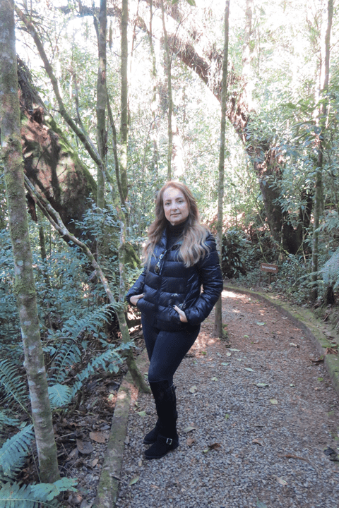 Trilha da Pousada Mirante da Colyna em Monte Verde