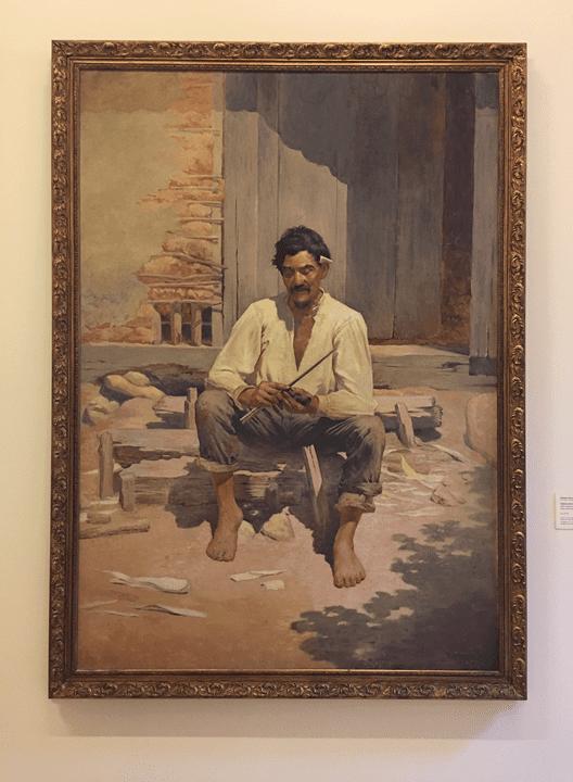 Caipira picando fumo - Pinacoteca de SP.
