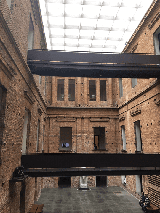 Arquitetura da Pinacoteca