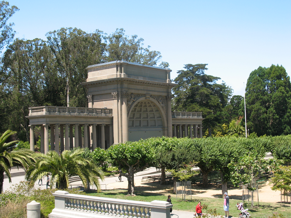 Spreckels Temple of Music in Golden Gate Park