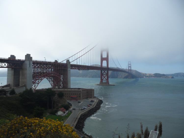 Fort Point em São Francisco - dicas de viagem.