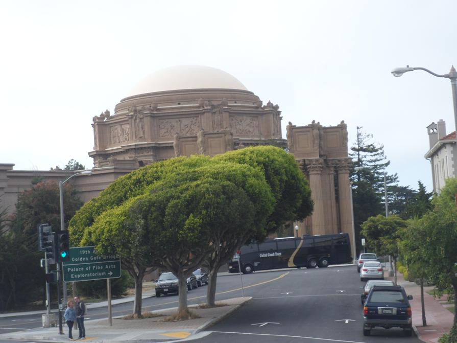 São Francisco dicas de viagem: Palace of Fine Arts.