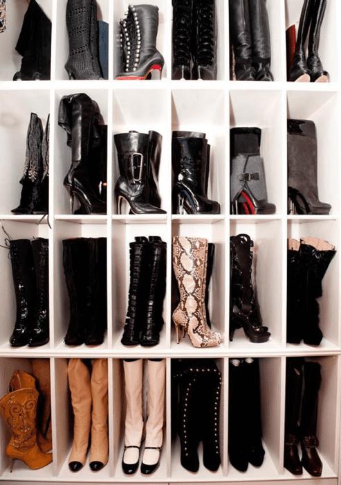 Como-organizar botas.
