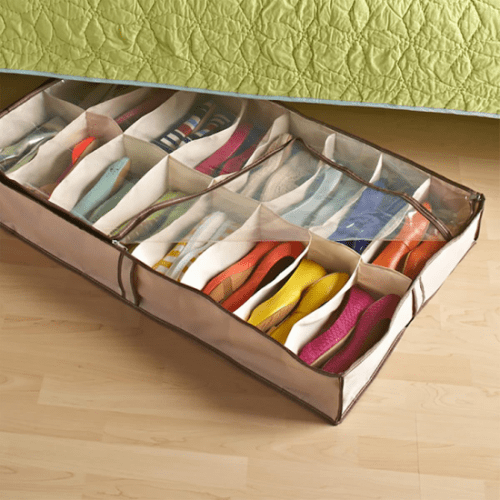 Como organizar calçados.