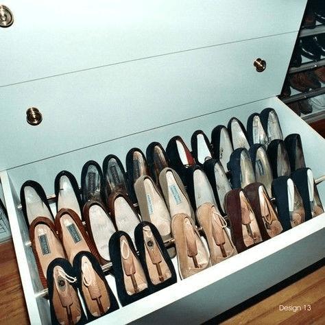 Como organizar sapatos.