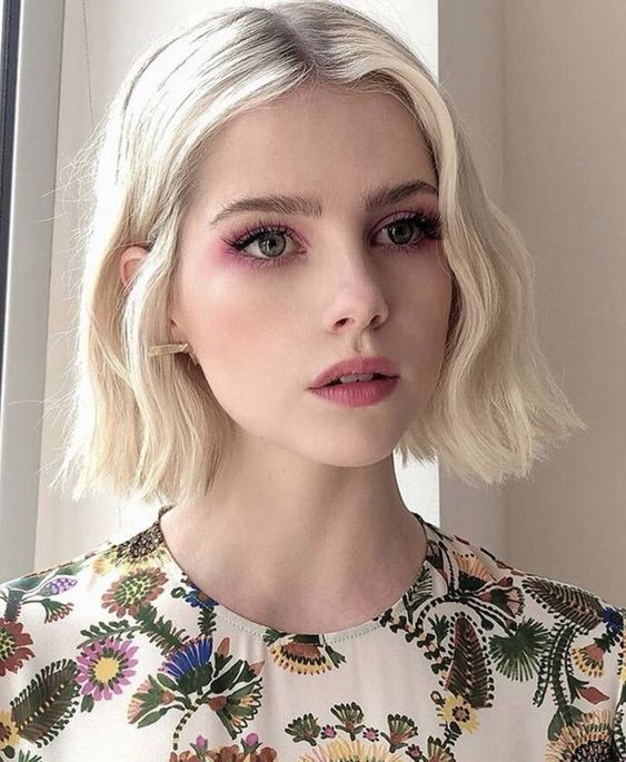 Maquiagem rosa: ideias de looks.