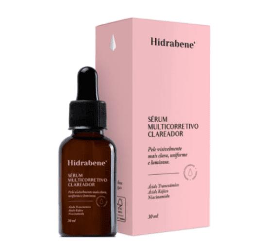 Hidrabene que contém ácido tranexâmico.