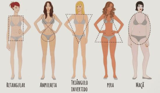 Moda para baixinhas e o tipo de corpo.