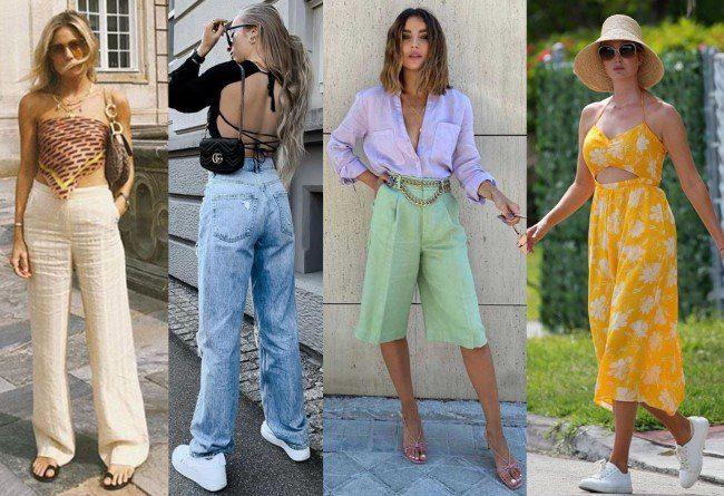 Tendências de moda verão 2022.
